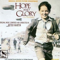 Hope and Glory Soundtrack  (Peter Martin) - CD cover