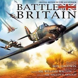 Battle of Britain Soundtrack (Ron Goodwin, William Walton) - CD-Cover