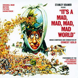 It's a Mad, Mad, Mad, Mad World Soundtrack (Ernest Gold) - CD cover