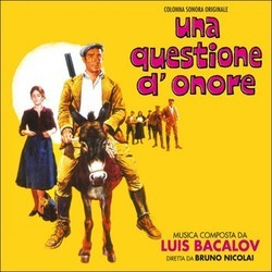 Una Questione d'Onore Soundtrack (Luis Bacalov) - CD cover