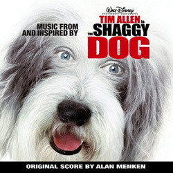 The Shaggy Dog Soundtrack (Various Artists, Alan Menken) - CD cover