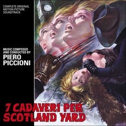 7 Cadaveri per Scotland Yard Soundtrack (Piero Piccioni) - CD cover