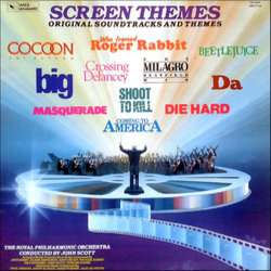 Screen Themes Ścieżka dźwiękowa (John Barry, Elmer Bernstein, Paul Chihara, Danny Elfman, Dave Grusin, James Horner, Michael Kamen, Nile Rodgers, John Scott, Howard Shore, Alan Silvestri) - Okładka CD