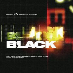 Black Soundtrack (Michael Giacchino, Chris Tilton) - CD cover