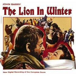 The Lion In Winter / Mary, Queen of Scots Soundtrack (John Barry) - CD cover