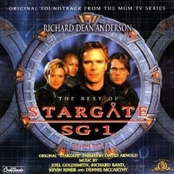 The Best of Stargate SG-1 : Season 1 Μουσική υπόκρουση (David Arnold, Richard Band, Joel Goldsmith, Kevin Kiner, Dennis McCarthy) - Κάλυμμα CD