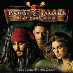 Pirates of the Caribbean: Dead Man's Chest Colonna sonora (Hans Zimmer) - Copertina del CD