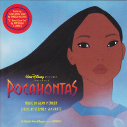 Pocahontas Soundtrack (Alan Menken) - CD cover