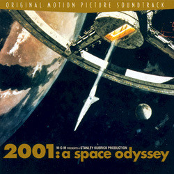 2001: A Space Odyssey Soundtrack (Aram Khachaturian, Gyorgy Ligeti, Johann Strauss, Richard Strauss) - Carátula
