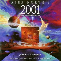 Alex North's 2001 Soundtrack (Alex North) - CD cover