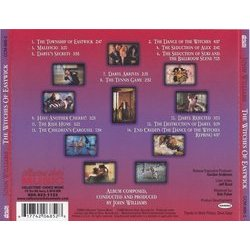 The Witches of Eastwick Soundtrack (John Williams) - CD Trasero