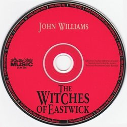 The Witches of Eastwick Soundtrack (John Williams) - cd-car�tula