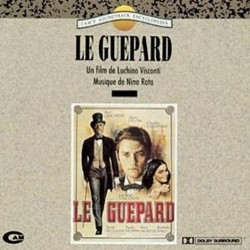 Le Guepard Soundtrack (Nino Rota) - CD cover