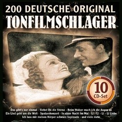 200 Deutsche Original Tonfilmschlager Soundtrack (Various Artists) - CD-Cover