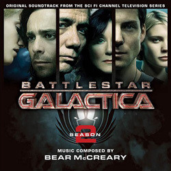 Battlestar Galactica: Season 2 Soundtrack (Bear McCreary) - CD cover