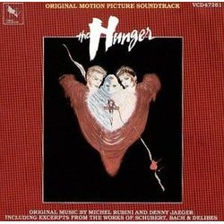 The Hunger 聲帶 (Various Artists, Denny Jaeger, Michel Rubini) - CD封面