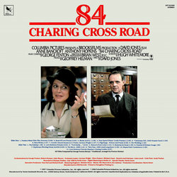 84 Charing Cross Road Soundtrack (George Fenton) - CD-Rückdeckel