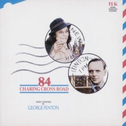 84 Charing Cross Road Soundtrack (George Fenton) - CD-Cover