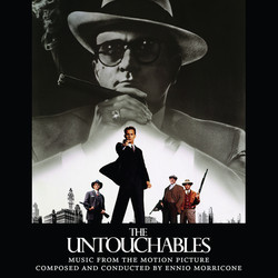 The Untouchables Soundtrack (Ennio Morricone) - CD cover