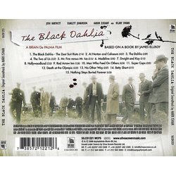 The Black Dahlia Soundtrack (Mark Isham) - CD Trasero
