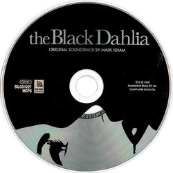 The Black Dahlia Soundtrack (Mark Isham) - cd-carátula