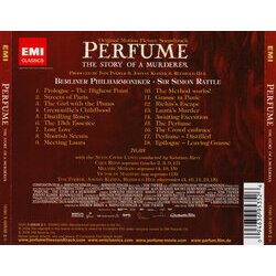 Perfume: The Story of a Murderer Soundtrack (Reinhold Heil, Johnny Klimek, Tom Tykwer) - CD Achterzijde