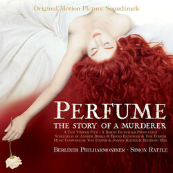 Perfume: The Story of a Murderer Soundtrack (Reinhold Heil, Johnny Klimek, Tom Tykwer) - CD cover