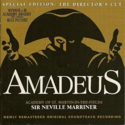 Amadeus Soundtrack (Wolfgang Amadeus Mozart) - CD cover