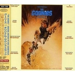 The Goonies Trilha sonora (Various Artists, Dave Grusin) - capa de CD