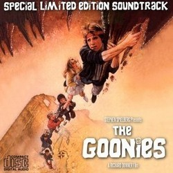 The Goonies Soundtrack (Various Artists, Dave Grusin) - CD cover