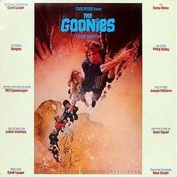 The Goonies Soundtrack (Various Artists, Dave Grusin) - CD-Cover