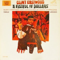 A Fistful of Dollars Soundtrack (Ennio Morricone) - CD cover