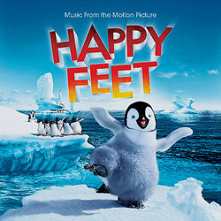 Happy Feet Soundtrack (Various Artists, John Powell) - CD cover