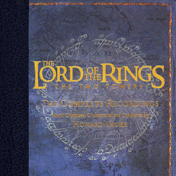 The Lord of the Rings: The Two Towers Soundtrack (Howard Shore) - CD cover