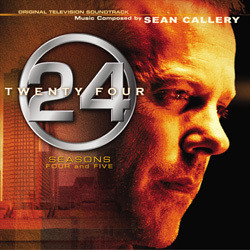 24: Seasons 4 and 5 Soundtrack (Sean Callery) - CD-Cover