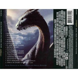 Eragon Soundtrack (Patrick Doyle) - CD Trasero