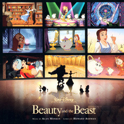 Beauty and the Beast Soundtrack (Various Artists, Howard Ashman, Alan Menken) - CD cover