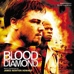 Blood Diamond Soundtrack (James Newton Howard) - CD cover
