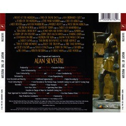 Night at the Museum Soundtrack (Alan Silvestri) - CD Achterzijde