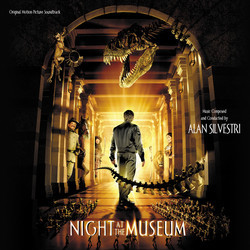 Night at the Museum Soundtrack (Alan Silvestri) - CD cover