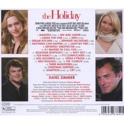 The Holiday Soundtrack (Hans Zimmer) - CD cover