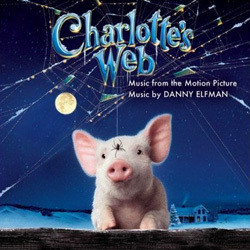 Charlotte's Web Soundtrack (Danny Elfman) - CD cover