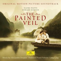 The Painted Veil Soundtrack (Alexandre Desplat) - CD cover