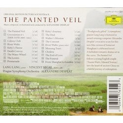 The Painted Veil Trilha sonora (Alexandre Desplat) - CD capa traseira