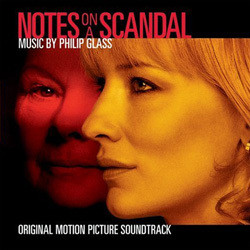 Notes on a Scandal 聲帶 (Philip Glass) - CD封面