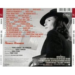 The Good German Soundtrack (Thomas Newman) - CD Trasero