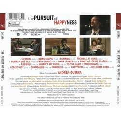 The Pursuit of Happyness Soundtrack (Andrea Guerra) - CD Back cover