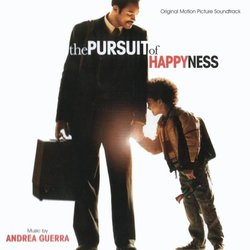 The Pursuit of Happyness Soundtrack (Andrea Guerra) - CD cover