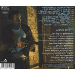Dead Man Down Soundtrack (Jacob Groth) - CD Back cover
