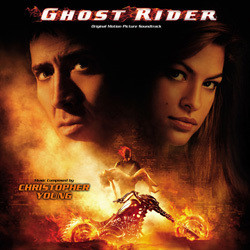Ghost Rider Soundtrack (Christopher Young) - CD cover